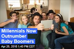 Millennials Now Outnumber Baby Boomers