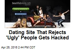 Dating Site That Rejects 'Ugly' People Gets Hacked