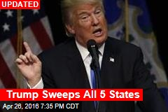 Trump Takes 3 States Early