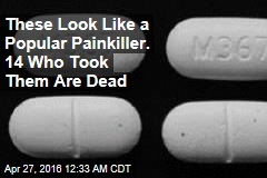 Counterfeit Painkillers Kill 14 in California
