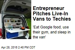 Entrepreneur Pitches Live-In Vans to Techies