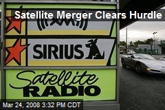 Satellite Merger Clears Hurdle