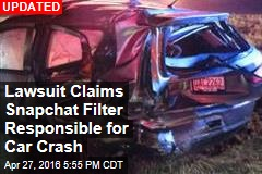 Lawsuit Claims Snapchat Filter Responsible for Car Crash