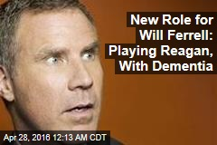 Will Ferrell to Play Reagan in New Movie