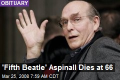 'Fifth Beatle' Aspinall Dies at 66