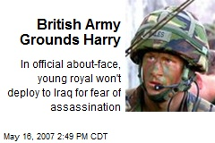 British Army Grounds Harry