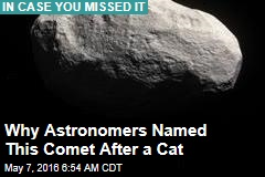 Why Astronomers Named This Comet After a Cat