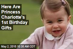 Here Are Princess Charlotte's 1st Birthday Gifts