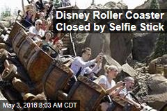 Disney Roller Coaster Closed by Selfie Stick