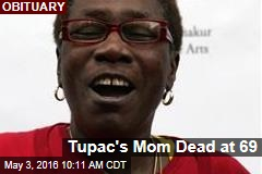 Tupac's Mom Dead at 69