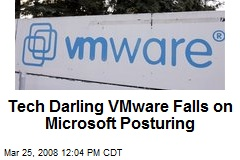 Tech Darling VMware Falls on Microsoft Posturing