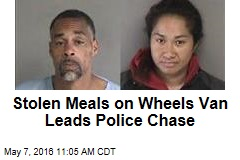 Stolen Meals on Wheels Van Leads Police Chase