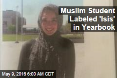 Muslim Student Labeled 'Isis' in Yearbook