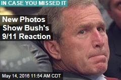 New Photos Show Bush's 9/11 Reaction