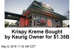 Krispy Kreme Bought by Keurig Owner for $1.35B
