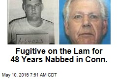 Fugitive on the Lam for 48 Years Nabbed in Conn.