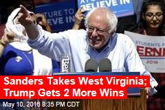 Trump Wins West Virginia; Sanders Leads Clinton
