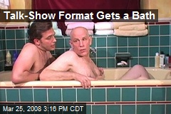 Talk-Show Format Gets a Bath