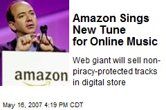 Amazon Sings New Tune for Online Music
