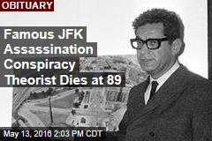 Famous JFK Assassination Conspiracy Theorist Dies at 89