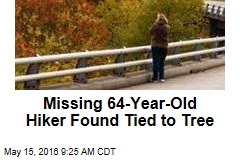 Missing Woman, 64, Found Tied to Tree