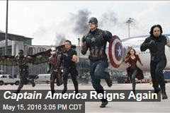 Captain America Reigns Again