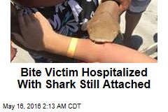 Bite Victim Hospitalized With Shark Still Attached