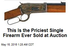 1886 Winchester Rifle Sells for Record $1.2M