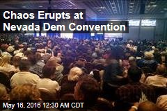 Chaos Erupts at Nevada Dem Convention