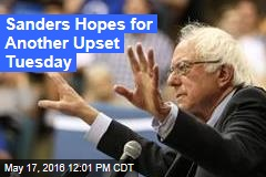 Sanders Hopes for Another Upset Tuesday