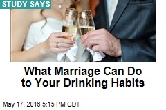 Drinking Too Much? Consider Marriage