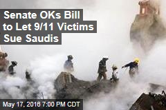 Senate OKs Bill to Let 9/11 Victims Sue Saudis