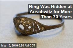 Ring Was Hidden at Auschwitz for More Than 70 Years