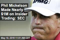 Pro Golfer Made Nearly $1M on Insider Trading Tip: SEC