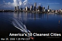 America's 10 Cleanest Cities
