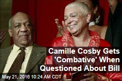 Camille Cosby Gets 'Combative' When Questioned About Bill