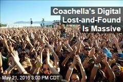 Coachella's Digital Lost-and-Found Is Massive