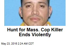 Hunt for Mass. Cop Killer Ends Violently