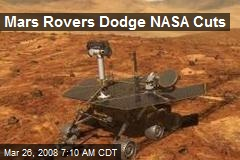 Mars Rovers Dodge NASA Cuts