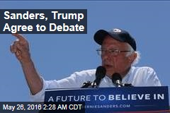 Sanders, Trump Agree to Debate