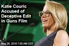 Katie Couric Accused of Deceptive Edit in Guns Film