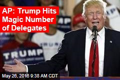 AP: Trump Hits Magic Number of Delegates