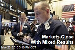 Markets Close With Mixed Results