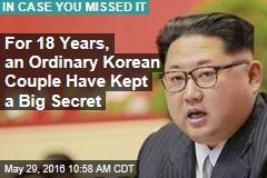 For 18 Years, an Ordinary Korean Couple Has Kept a Big Secret