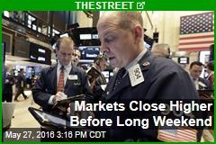 Markets Close Higher Before Long Weekend