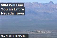 $8M Will Buy You an Entire Nevada Town