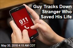 Guy Tracks Down Stranger Who Saved His Life