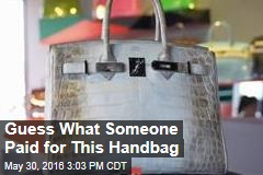 This is the Priciest Handbag Ever Sold