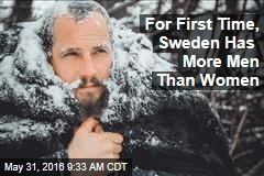 For First Time, Sweden Has More Men Than Women