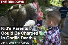 Kid's Parents Could Be Charged in Gorilla Death